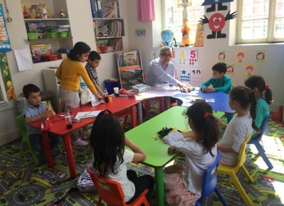 Psychosoziale Arbeit mit Kindern aus Kriegsgebieten