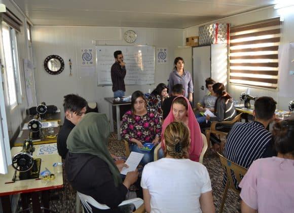 Psychosoziale Unterstützung im Dawadiya Camp im Irak (PSIDAD)